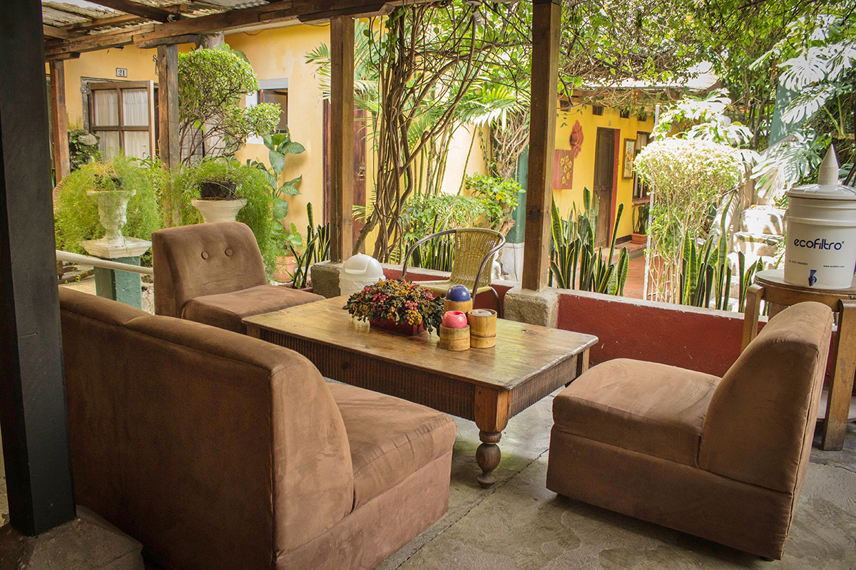Hotel Lobby Antigua Guatemala 4 ...